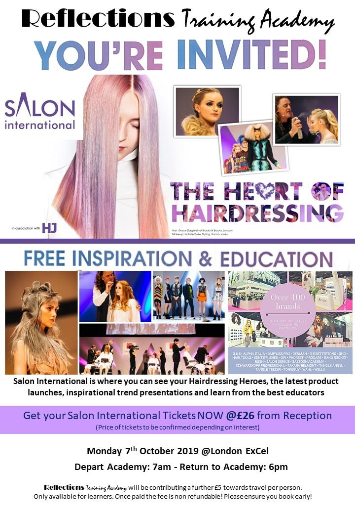 Salon International invitation